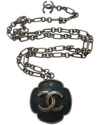 Chanel - Pre-owned Other Metal Necklaces - Lyst
