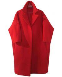 Jil Sander - Pre-owned Wool Coat - Lyst