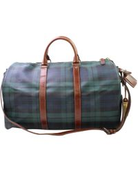 Polo Ralph Lauren - Leather Travel Bag - Lyst