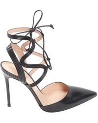 Gianvito Rossi - Pre-owned Leather Heels - Lyst