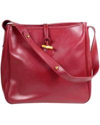 Longchamp - Roseau Leather Handbag - Lyst