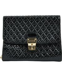Tod's - Patent Leather Clutch Bag - Lyst