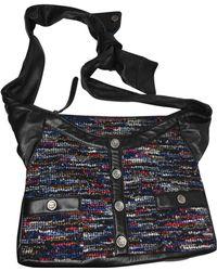 Chanel - Girl Black Leather Handbag - Lyst