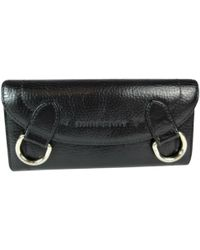 Burberry - Leather Wallet - Lyst