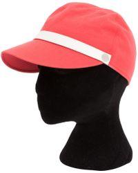 Hermès - Pre-owned Orange Cotton Hats - Lyst