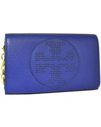 Tory Burch - Pre-owned Leather Crossbody Bag - Lyst