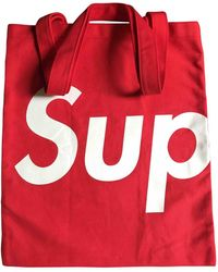 Supreme - Cloth Travel Bag - Lyst