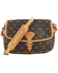 Louis Vuitton - Pre-owned Sologne Cloth Clutch Bag - Lyst