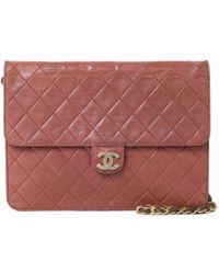 Chanel - Sac à main Timeless en cuir - Lyst