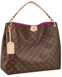 Louis Vuitton - Sac à main Graceful en cuir - Lyst