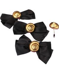 Lanvin - Vintage Gold Metal Pins & Brooches - Lyst
