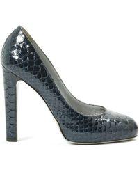 Sergio Rossi - Exotic Leathers Heels - Lyst