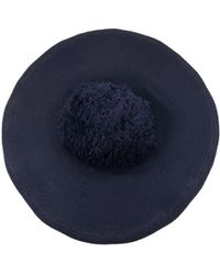 Sonia Rykiel - Navy Cotton Hats - Lyst