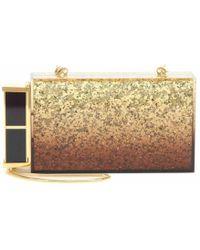 Tom Ford - Gold Plastic Clutch Bag - Lyst