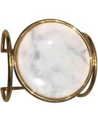 Céline - Pre-owned Gold Metal Bracelet - Lyst
