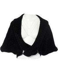 Alaïa - Black Viscose Jacket - Lyst