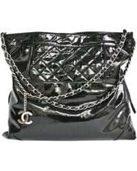 Chanel - Coco Tote In Patent Leather - Lyst