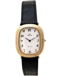 Omega - Pre-owned Silver Gilt Watch - Lyst