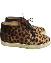 Pre-owned - Bobby pony-style calfskin trainers Isabel Marant C70FzXyi