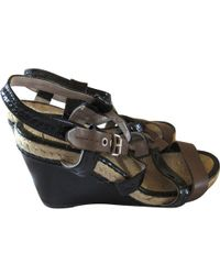 Marc By Marc Jacobs - Leather Sandals - Lyst