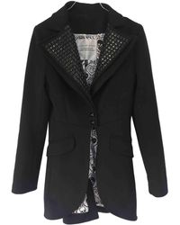 Philipp Plein - Pre-owned Black Synthetic Coats - Lyst