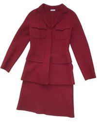 Alaïa - Wool Skirt Suit - Lyst