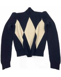 Stella McCartney - Pre-owned Navy Wool Knitwear - Lyst