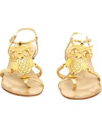 Giuseppe Zanotti - Pre-owned Leather Sandals - Lyst