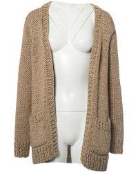 Michael Kors - Beige Cotton Knitwear - Lyst