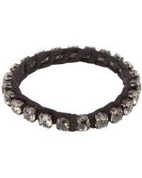 Lanvin - Pre-owned Silver Metal Bracelet - Lyst