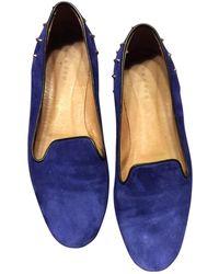 Sandro - Ballet Court Shoes - Lyst