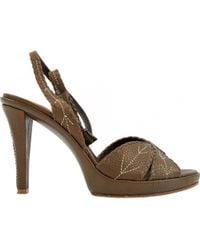 Barbara Bui - Leather High Heel - Lyst
