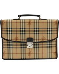 77d5d7b01b19 Burberry Classic Laptop Bag in Orange for Men - Lyst