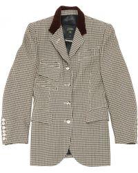 Jean Paul Gaultier - Wool Blazer - Lyst