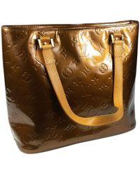 Louis Vuitton - Houston Patent Leather Handbag - Lyst