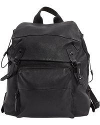 Lanvin Black Leather Backpacks