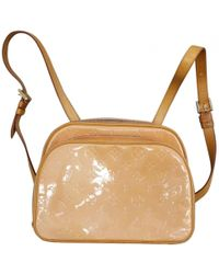 Louis Vuitton - Patent Leather Backpack - Lyst
