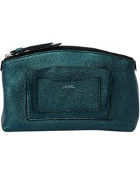 Lancel - Pre-owned Leather Clutch Bag - Lyst