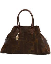 Fendi - Brown Pony-style Calfskin Handbag - Lyst