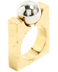 Chloé - Pre-owned Ring - Lyst