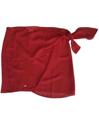 Dior - Pre-owned Red Polyester Swimwear - Lyst