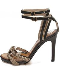 Chloé - Leather Sandals - Lyst