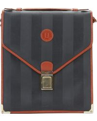 7e44c5e5e96a Fendi - Pre-owned Vintage Black Cloth Handbags - Lyst