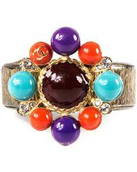 Chanel - Pre-owned Multicolour Metal Bracelet - Lyst