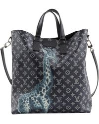 Louis Vuitton - Pre-owned Navy Cloth Bags - Lyst