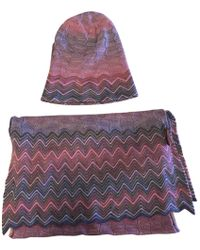 Missoni - Pre-owned Wool Scarf - Lyst