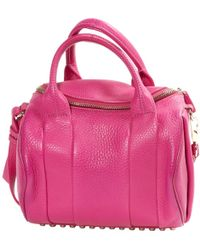 Alexander Wang - Rockie Leather Handbag - Lyst