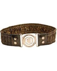 Dior - Cloth Belt - Lyst