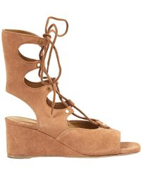 Pre-owned - Camel Suede Sandals Chlo mdpHCBRP