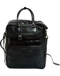 Burberry - Black Leather Bag - Lyst